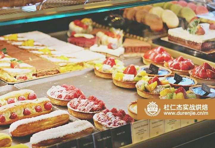 杭州桐庐县蓝带西点蛋糕房双皮奶法式饽饽短期速成培训作品体现