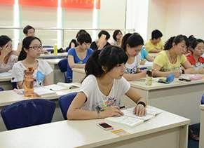 渭南鼎立会计培训学校 上课课堂