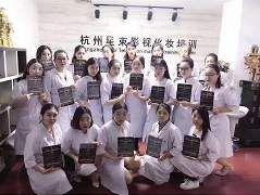 杭州星束化妆 毕业学员