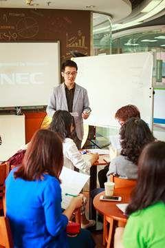 泉州美联英语培训中心  大班学习
