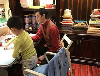 北京美卓英语 外教授课课堂