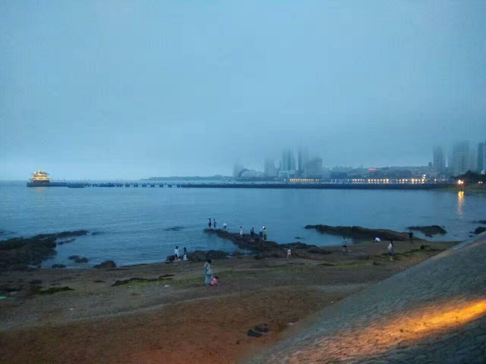 青岛英代美发培训学校  俯瞰海景