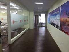 仁和会计武汉软件园校区走廊