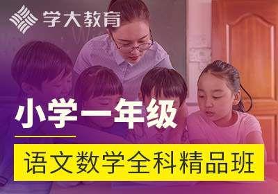 石家庄小学一年级语文数学全科精品班