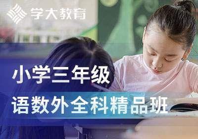小学三年级语文数学英语全科精品班
