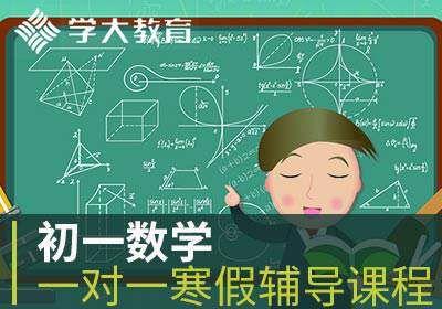 廊坊初一数学一对一寒假辅导课程