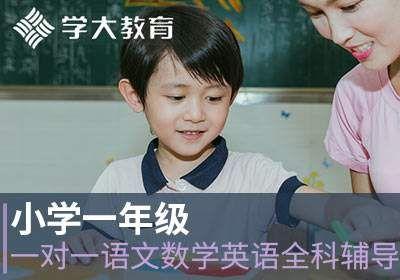 小学一年级一对一语文数学英语全科辅导