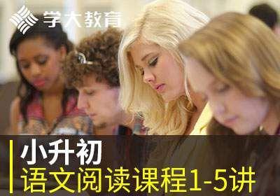 小升初语文阅读课程1-5讲