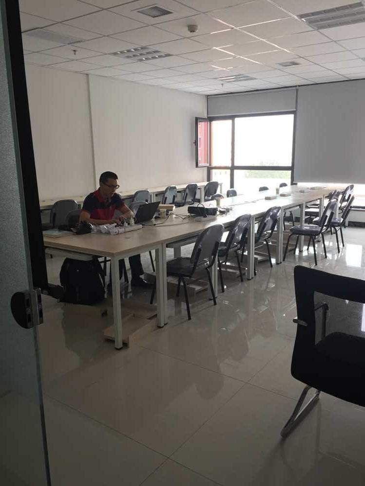北京一砖一瓦造价预算培训中心  教室环境