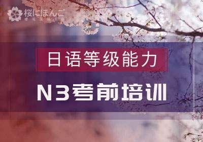 日语N3考前特训班