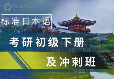标准日本语考研初级下册及冲刺班