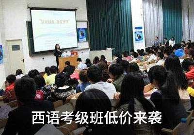 新视线教育11.11西语考级班低价来袭