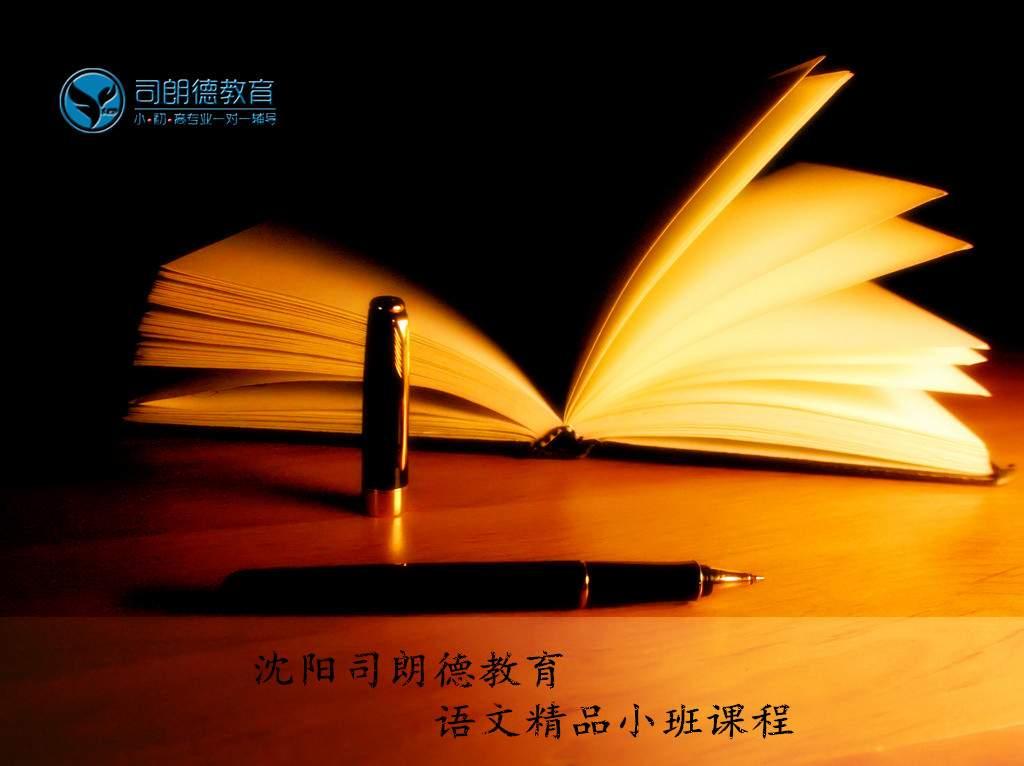 沈阳司朗德初三语文一对多初高中文化课补习