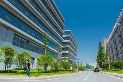 湖北工业大学国际职业中心 学校大道