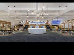 讯得达国际书院 图书馆