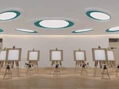 讯得达国际书院 美术教室