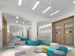 讯得达国际书院 学校走廊