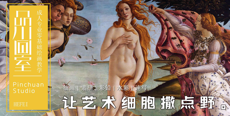品川画室_合肥专业成人美术教育_专业素描色彩油画手绘培训