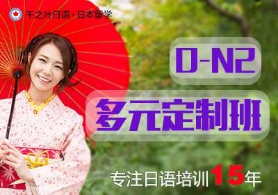 日语课程0-N2多元定制精品班