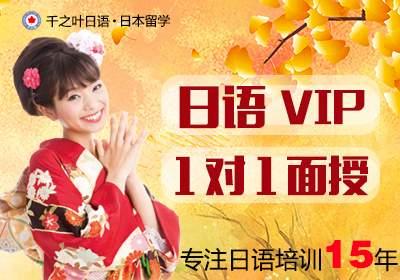 日语VIP1对1面授