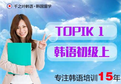 韩语初级上(TOPIK1)