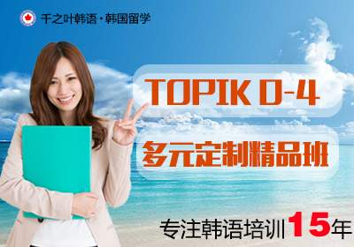 TOPIK0-4级多元定制精品班