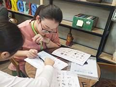 贝特尔英语中心学员学习