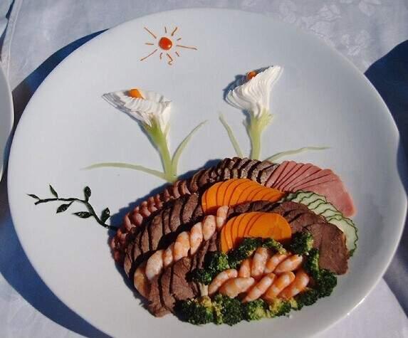 两个月厨师食品雕刻班、果蔬拼盘班