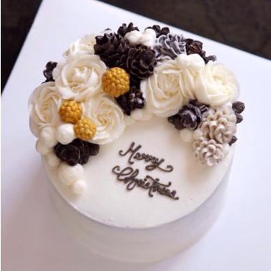 韩式蛋糕裱花