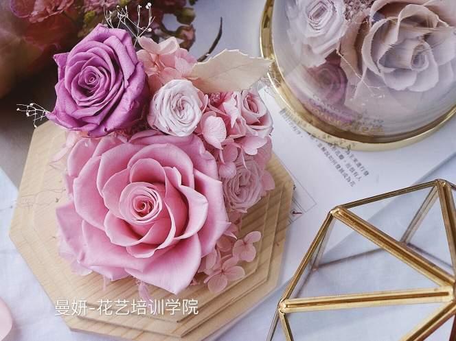 广州曼妍花艺培训