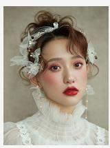 广州时尚新娘盘发造型进修班