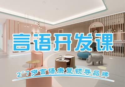 杭州语言发育迟缓康复课程(一对一)