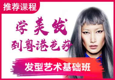 粤港芭莎发型艺术基础班