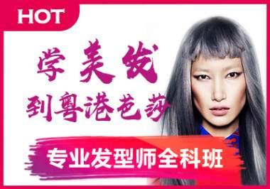 粤港芭莎专业发型师全科班