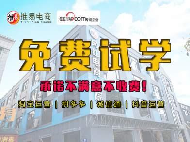 义乌推易电商抖音运营+直播带货培训系统化教学包教会