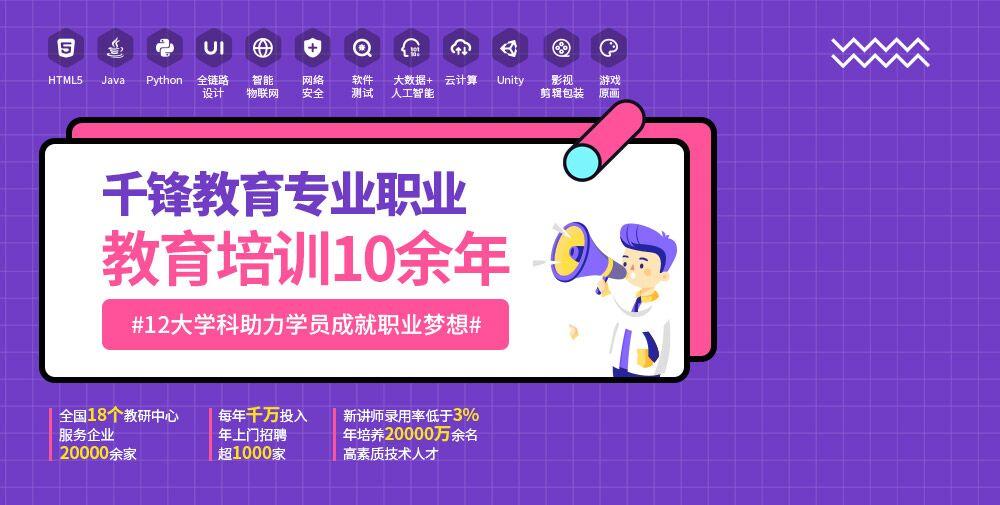 南京千鋒教育