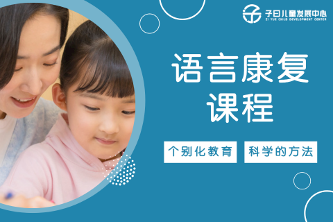 合肥自闭症语言康复课程(说话晚语言发育迟缓)